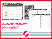 August Product Highlight: Blue Sky Calendar and Planner