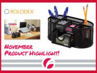 November Product Highlight: Rolodex Supplies Caddy