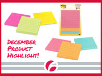 December Product Highlight: Post-it ® Notes Original Lined Notepads