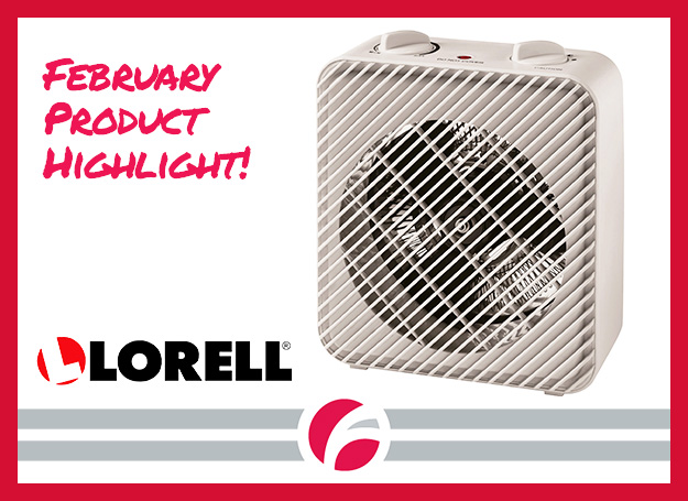 February Product Highlight: Lorell 3-Setting Heater