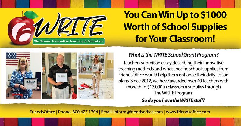 Write-program-FriendsOffice-school-grant-2021-2022